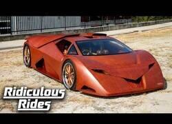 Enlace a El primer coche deportivo fabricado con madera