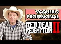 Enlace a Cowboy profesional juega a 'Red Dead Redemption ll'