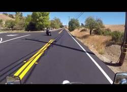 Enlace a Impacto frontal entre una moto y un coche