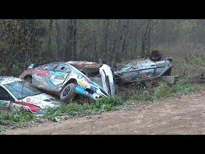 Así de tranquilas son las carreras de Rally en Rusia