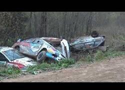 Enlace a Así de tranquilas son las carreras de Rally en Rusia