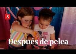 Enlace a Las niñas virales del cumpleaños hacen las paces con este vídeo