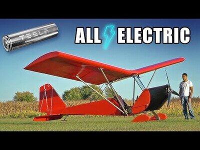 Construyendo una avioneta eléctrica casera