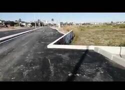 Enlace a La carretera 'chapuza' en Cartagena, España