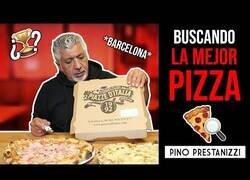 Enlace a Pino Prestanizzi en busca de la mejor pizza de Barcelona