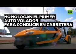 Enlace a Homologan el primer coche volador para conducir en carreteras