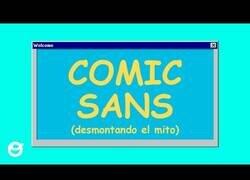 Enlace a Desmontando el mito de la Comic Sans