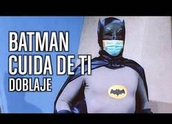 Enlace a Batman contra los que no llevan mascarilla