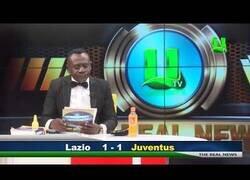 Enlace a El locutor de resultados de fútbol de la televisión ghanesa que se ha hecho viral