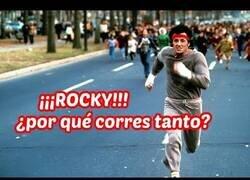 Enlace a Rocky, ¿por qué corres tanto?