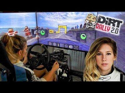Así es el 'teletrabajo' de una piloto profesional de Rallys