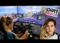 Enlace a Así es el 'teletrabajo' de una piloto profesional de Rallys