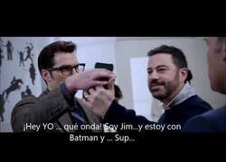 Enlace a Jimmy Kimmel se encuentra con Batman y Superman
