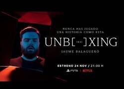 Enlace a El corto de Netflix con Ibai del Unboxing de la PS5 más loco