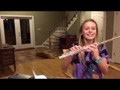 Creo que a alguien no le gusta demasiado el sonido de la flauta