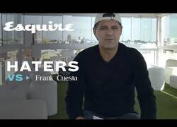 Enlace a Frank Cuesta respondiendo a sus haters
