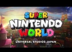 Enlace a Super Nintendo World, el parque de atracciones de Mario que abrirá Japón en 2021