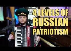 Enlace a 4 niveles para demostrar el patriotismo ruso