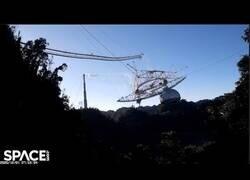 Enlace a Así colapsó el observatorio de Arecibo, activo en Puerto Rico desde 1963