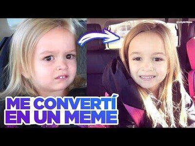 La historia de cómo Chloe, la niña confundida, se convirtió en meme