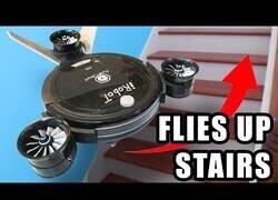 Enlace a Fabricando una Roomba voladora