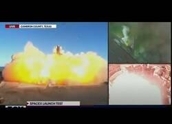 Enlace a Un cohete de SpaceX estalla contra el suelo tras pocos segundos de vuelo