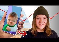 Enlace a La historia de cómo Sam, el niño exitoso, se convirtió en meme