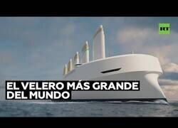 Enlace a Ingenieros suecos construyen el velero más grande del mundo