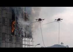 Enlace a Poniendo a prueba a los drones bomberos