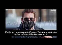 Enlace a Tom Cruise, furioso con el equipo de rodaje de Misión Imposible 7 por no respetar el protocolo anticovid