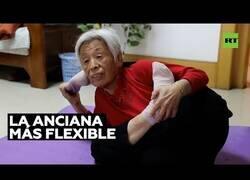 Enlace a La anciana más flexible del mundo