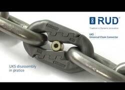 Enlace a El eslabón de cadenas para poder abrirlas con una llave