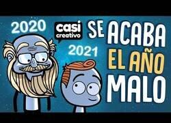 Enlace a Se va 2020 y llega 2021