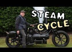 Enlace a Así es la única moto a vapor del mundo