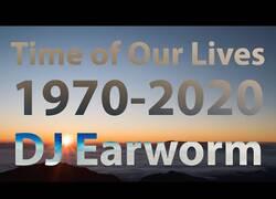 Enlace a Un remix de la canción de cada año desde 1970