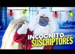 Enlace a Wismichu se pone en la piel de Papá Noel por un día