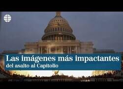 Enlace a Las imágenes más impactantes del asalto al Capitolio de EEUU
