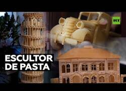 Enlace a Creando obras de arte con pasta alimenticia