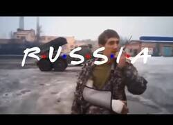 Enlace a Presentando Rusia con la intro de Friends