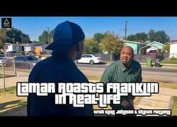 Enlace a Los actores de Lamar y Franklin recrean las mítica cinemática de GTA V