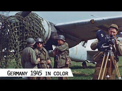 Imágenes restauradas de Alemania en 1945, tras la Segunda Guerra Mundial