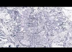 Enlace a Así se veía Madrid desde el cielo tras el paso de Filomena