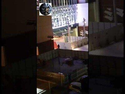 Espectacular intento de robo de cajero en directo en el centro comercial