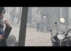 Enlace a Así quedó la calle Toledo tras la explosión ocurrida en Madrid