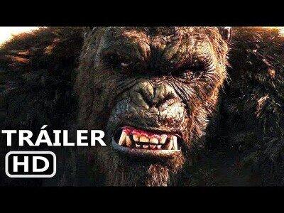 El trailer de la nueva película Godzilla vs Kong