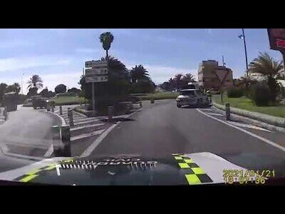 Espectacular persecución policial en Gran Canaria