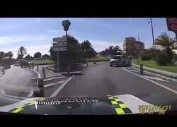 Enlace a Espectacular persecución policial en Gran Canaria