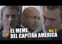 Enlace a Los memes del Capitán América en versión doblaje