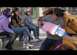 Enlace a Jugando VR por la calle en la vida real