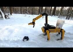 Enlace a El robot de Boston Dynamics ya tiene brazo